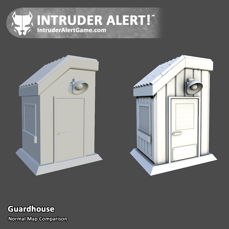 Guardhouse: Normal Map Comparison