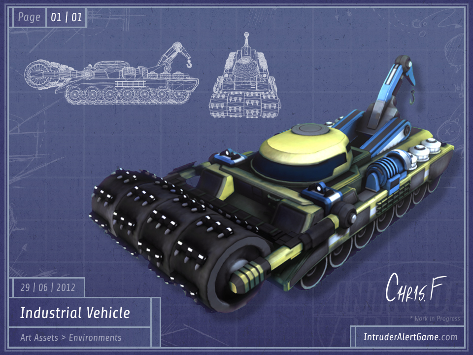Industrial Vehicle (WIP, 07/07/2012)