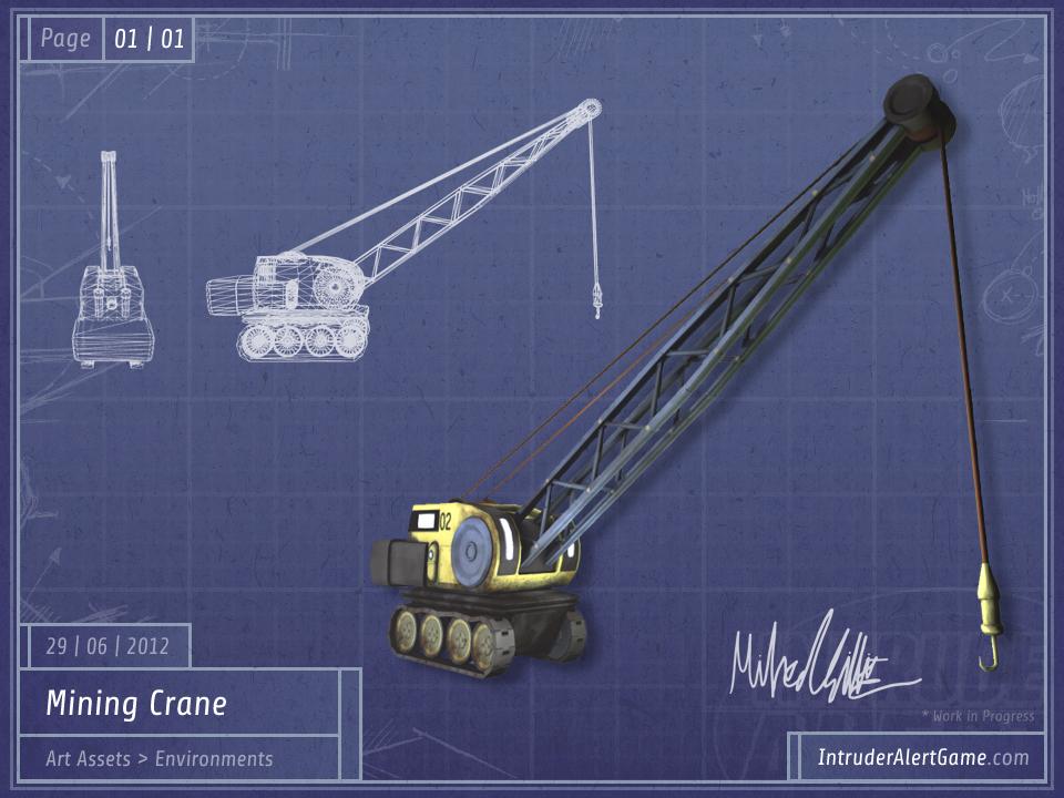 Mining Crane (WIP, 07/07/2012)